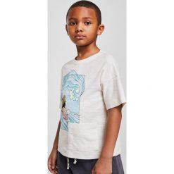 Odzież dziecięca: Mango Kids – T-shirt dziecięcy Mark 110-164 cm