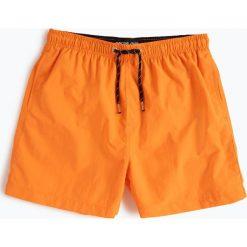 Ocean Cup - Męskie spodenki kąpielowe, pomarańczowy. Brązowe kąpielówki męskie marki NABAIJI, z elastanu. Za 49,95 zł.