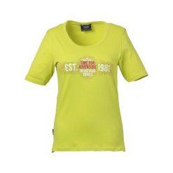 Bluzki asymetryczne: KILLTEC Koszulka damska Navaeh żółta r. 3XL (2443446)