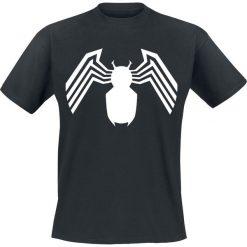 Venom (Marvel) White Logo T-Shirt czarny. Czarne t-shirty męskie Venom (Marvel), xxl, z motywem z bajki. Za 74,90 zł.