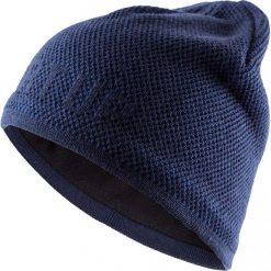 Czapka męska CAM611 - ciemny granat - Outhorn. Niebieskie czapki zimowe męskie Outhorn. Za 39,99 zł.