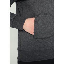 Bluzy rozpinane damskie: Only Play ONPLINA HIGH NECK CURVY Bluza rozpinana dark grey melange