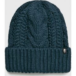 The North Face - Czapka. Szare czapki damskie The North Face, na zimę, z dzianiny. W wyprzedaży za 99,90 zł.