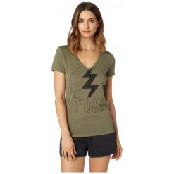 T-shirty damskie: FOX T-Shirt Damski Repented S Khaki
