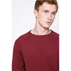 Dissident - Sweter. Brązowe swetry klasyczne męskie marki Dissident, m, z bawełny, z okrągłym kołnierzem. W wyprzedaży za 39,90 zł.