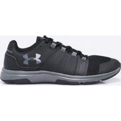 Under Armour - Buty. Szare buty sportowe męskie marki Under Armour, z gumy, na sznurówki. W wyprzedaży za 239,90 zł.