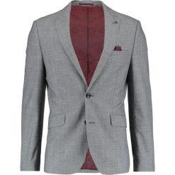 Marynarki męskie slim fit: Burton Menswear London JASPE Marynarka garniturowa grey