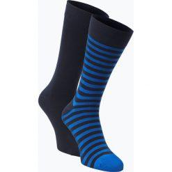 Finshley & Harding - Skarpety męskie pakowane po 2 szt., niebieski. Niebieskie skarpetki męskie marki Finshley & Harding, z bawełny. Za 39,95 zł.