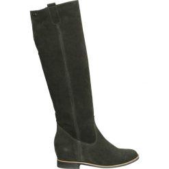 Kozaki - 1072 CAM CENE. Żółte buty zimowe damskie marki Venezia, ze skóry. Za 279,00 zł.