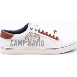 Camp David - Tenisówki. Szare tenisówki męskie Camp David, z gumy, na sznurówki. W wyprzedaży za 179,90 zł.