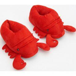 Kapcie damskie: Kapcie homary - Czerwony