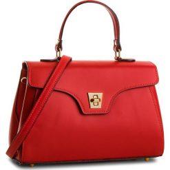 Torebka CREOLE - K10514 Czerwony. Czerwone torebki klasyczne damskie Creole, ze skóry. W wyprzedaży za 209,00 zł.