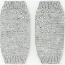 Rękawiczki bez palców - Jasny szar. Szare rękawiczki damskie Reserved. Za 29,99 zł.