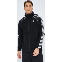 Adidas Originals - Kurtka. Czarne kurtki męskie przejściowe adidas Originals, l, z nylonu, z kapturem. Za 329,90 zł.