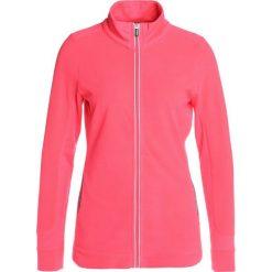Esprit Sports JACKET  Kurtka z polaru pink fuchsia. Różowe kurtki sportowe damskie Esprit Sports, s, z elastanu. W wyprzedaży za 174,30 zł.