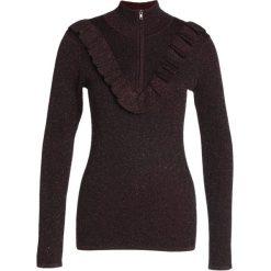 Swetry klasyczne damskie: Second Female IDAL Sweter port royale