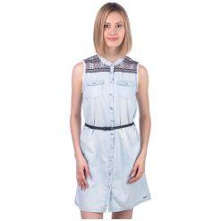 Pepe Jeans Sukienka Damska Lulus L Niebieski. Niebieskie sukienki marki Pepe Jeans, l, z jeansu. W wyprzedaży za 249,00 zł.