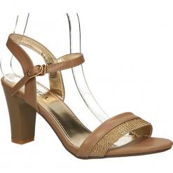 SANDAŁY VINCEZA R14-D-SD-247. Brązowe sandały damskie marki Vinceza. Za 49,99 zł.