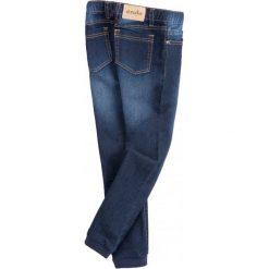 Jeansy dziewczęce: Jeansy ze sciągaczami dla dziewczynki
