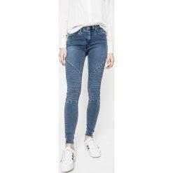 Only - Jeansy Royal. Szare jeansy damskie marki ONLY, s, z bawełny, casualowe, z okrągłym kołnierzem. W wyprzedaży za 119,90 zł.
