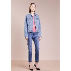 BOSS CASUAL PORTLAND Kurtka jeansowa bright blue. Niebieskie kurtki damskie jeansowe BOSS Casual, l. W wyprzedaży za 493,35 zł.