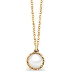 Biżuteria i zegarki damskie: PROMOCJA Złoty Wisiorek - złoto żółte 585, Perła