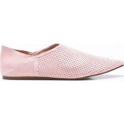 Answear - Baleriny Chc-Shoes. Szare baleriny damskie lakierowane ANSWEAR, z materiału. W wyprzedaży za 59,90 zł.