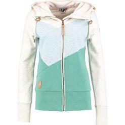 Bluzy rozpinane damskie: Ragwear VIOLA BLOCK ZIP Bluza rozpinana green