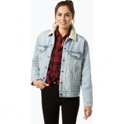 Levi's - Damska kurtka jeansowa – Disney, niebieski. Niebieskie kurtki damskie Levi's®, s, z motywem z bajki, z jeansu. Za 499,95 zł.