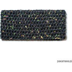 Apaszki damskie: Opaska ręcznie dziana BETSI BLACK handmade