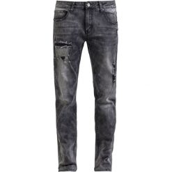 Jeansy męskie regular: Black Premium by EMP Pete Washed (Straight Fit) Jeansy czarny