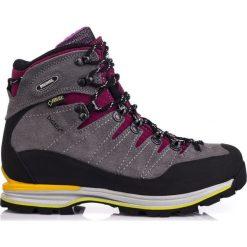 Buty trekkingowe damskie: MEINDL Buty damskie Air Revolution 4.1 GTX Grey/Black Berry r. 38