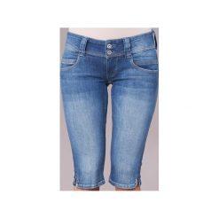Spodnie 7/8 i 3 / 4 Pepe jeans  VENUS CROP. Szare jeansy damskie marki Pepe Jeans, m, z jeansu, z okrągłym kołnierzem. Za 216,30 zł.