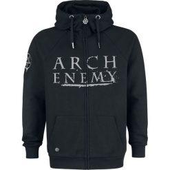 Arch Enemy EMP Signature Collection Bluza z kapturem rozpinana czarny. Czarne bluzy męskie rozpinane Arch Enemy, s, z aplikacjami, z materiału, z kapturem. Za 199,90 zł.