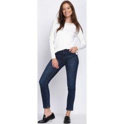 Biały Sweter What Chance. Białe swetry klasyczne damskie Born2be, l. Za 59,99 zł.