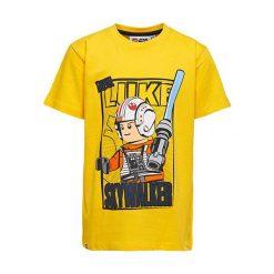 """T-shirty chłopięce z nadrukiem: Koszulka """"M-72366"""" w kolorze żółtym"""