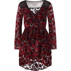 Sukienki hiszpanki: Band of Gypsies Sukienka letnia black/red