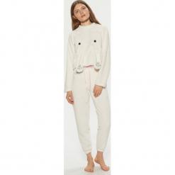 Dwuczęściowa piżama z motywem kota - Kremowy. Białe piżamy damskie Cropp, l. Za 99,99 zł.
