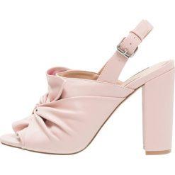 Sandały damskie: Miss Selfridge LUNA Sandały na obcasie pink