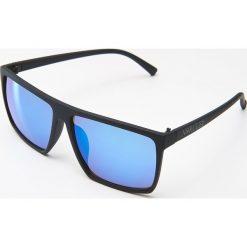 Okulary przeciwsłoneczne - Niebieski. Szare okulary przeciwsłoneczne damskie lenonki marki ORAO. Za 29,99 zł.