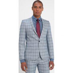 Viggo POTSDAM SUIT SLIM FIT Garnitur blue. Niebieskie garnitury Viggo, z elastanu. Za 759,00 zł.
