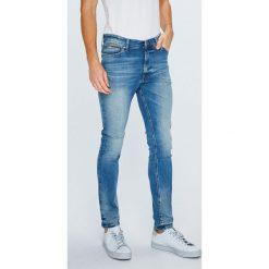 Tommy Jeans - Jeansy Simon. Szare jeansy męskie skinny marki Tommy Jeans. Za 399,90 zł.