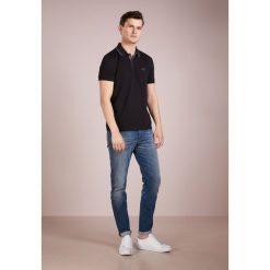 BOSS ATHLEISURE PEOS Koszulka polo black. Niebieskie koszulki polo marki BOSS Athleisure, m. Za 379,00 zł.