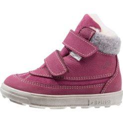 Pepino FREDDY Śniegowce fuchsia. Fioletowe buty zimowe damskie marki Pepino, z materiału. W wyprzedaży za 169,50 zł.