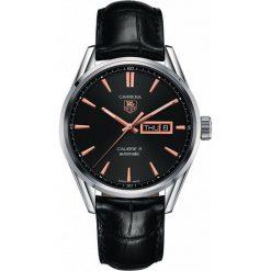 ZEGAREK TAG HEUER CARRERA WAR201C.FC6266. Czarne zegarki męskie TAG HEUER, szklane. Za 11590,00 zł.