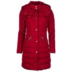 Desigual Płaszcz Damski Inga 42 Czerwony. Czerwone płaszcze damskie marki Desigual. Za 799,00 zł.