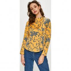 Vero Moda - Bluzka Olivia. Niebieskie bluzki z odkrytymi ramionami marki Vero Moda, z bawełny. Za 129,90 zł.