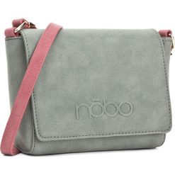 Torebka NOBO - NBAG-D3791-C008 Zielony. Zielone listonoszki damskie marki Nobo, ze skóry ekologicznej. W wyprzedaży za 109,00 zł.