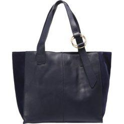 Mint&berry Torba na zakupy navy. Niebieskie shopper bag damskie marki mint&berry. W wyprzedaży za 167,20 zł.
