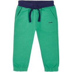 Spodnie dresowe długie dla chłopca 3-36 m-cy. Zielone spodnie dresowe dziewczęce Endo, z dresówki. Za 39,90 zł.